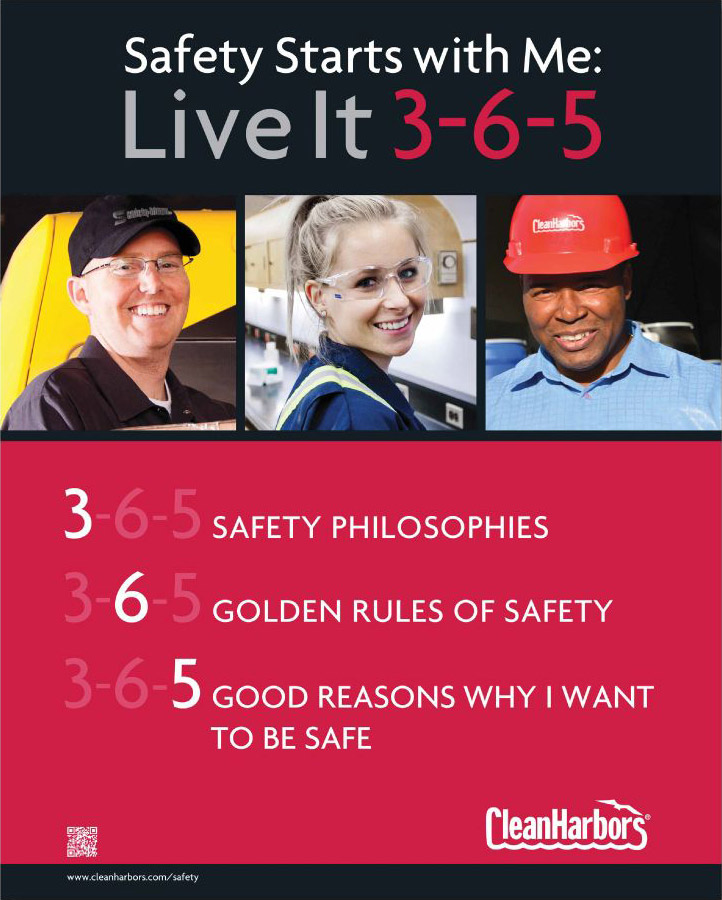 Safety Starts with Me: Live It 3-6-5